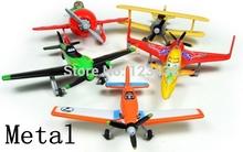 5pcs Mini Metal Alloy Diecasts & Toy Vehicles Airplane Planes Dusty Ishani EL Chupacabra Ripslinger Leadbottom(China (Mainland))