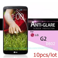 For LG Optimus G2 Screen Protector Anti Glare Matte Screen Protective Film For LG G2 10pcs/lot Without Package High Quality