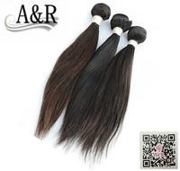 A&R hot sale top quality cheap price 3pcs lot human virgin brazilian hair wholesale
