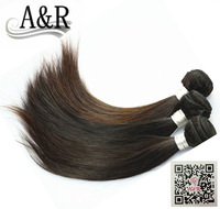 A&R top grade cheap price 3pcs lot free shipping wholesale remy brazilian hair weaving