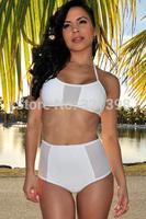 2014 new triangl swimwear bikini women bikinis set vintage high waisted swimwear swimsuit Bikini bathing suit 040688