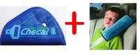 1 SET Car Seatbelt and kids pillow,Safe fit car safety belt baby child protector seat belt positioner children 2-5 years