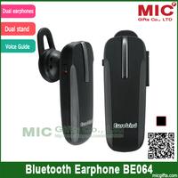 Wireless Bluetooth 3.0 Headset Earphones Headphone Handsfree Mobile Cell Phone Pad BE064