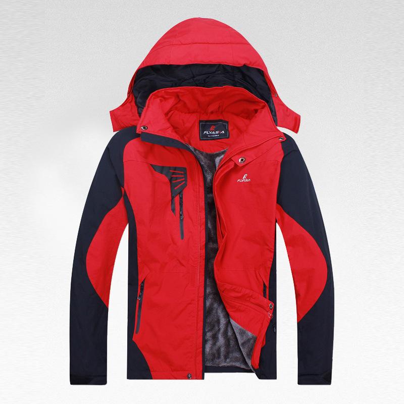 chaquetas al aire libre y resistente al agua softshell transpirable chaquetas de lana abrigo impermeable 1116025