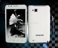 Original Santin X5 Quad Core MSM8225Q 5.0''inch capacitive screen Android 4.1 GPS WCDMA 3G 640x960 pixels Dual camera Tablet PC
