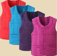 2014 Autumn and winter women's slim thermal vest down vest, women's short design liner waistcoat vest down coat