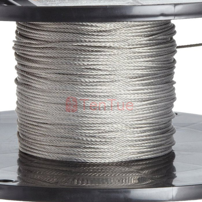 3M 2.0mm High Quality 304 Stainless Steel Wire Rope Wick SS Cable ...