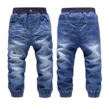 alta calidad kk- conejo invierno marca niñas pantalones gruesos de la moda niños pantalones los niños vaqueros bebé(China (Mainland))