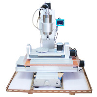 5 Axis CNC 3040 Table Column Type Engraving Machine, High-pricision Ball Screw