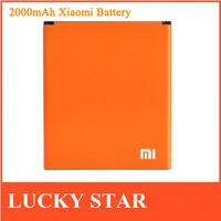 2000MAH 100% Original Xiaomi Rechangeable Phone Battery For Xiaomi Red Rice/1S Hongmi 1S Cell Phone