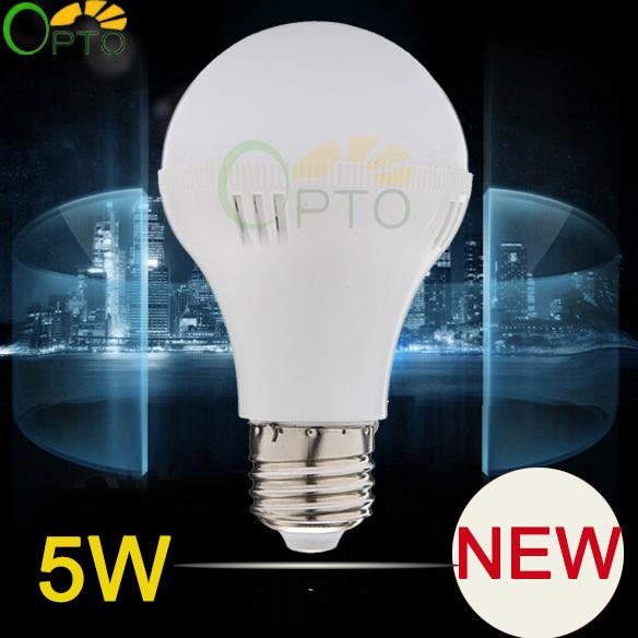 2014 New arrival LED bulb Free shipping 6 pcs/lot 5W E27 Energy Saving LED Lamps light lighting 220V 230V warm white/white D5(China (Mainland))