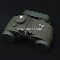 Army Binoculars HD 8X30 General Tactical Binoculars Rangefinder Compass telescope binocular with Night vision backlight display