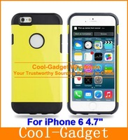 For iPhone6 SGP Slim Armor Dual Layer Shock-Proof Neo Hybrid Rugged Tough Case Cover for iPhone 6 6G 4.7 6+ Plus 5.5  IP6C14
