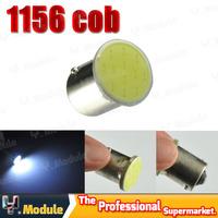 2x 1156 cob led S25 COB 18 SMD 18 chips led turn light bulb lamp Wholesale P21W Parking Lights #YNF47