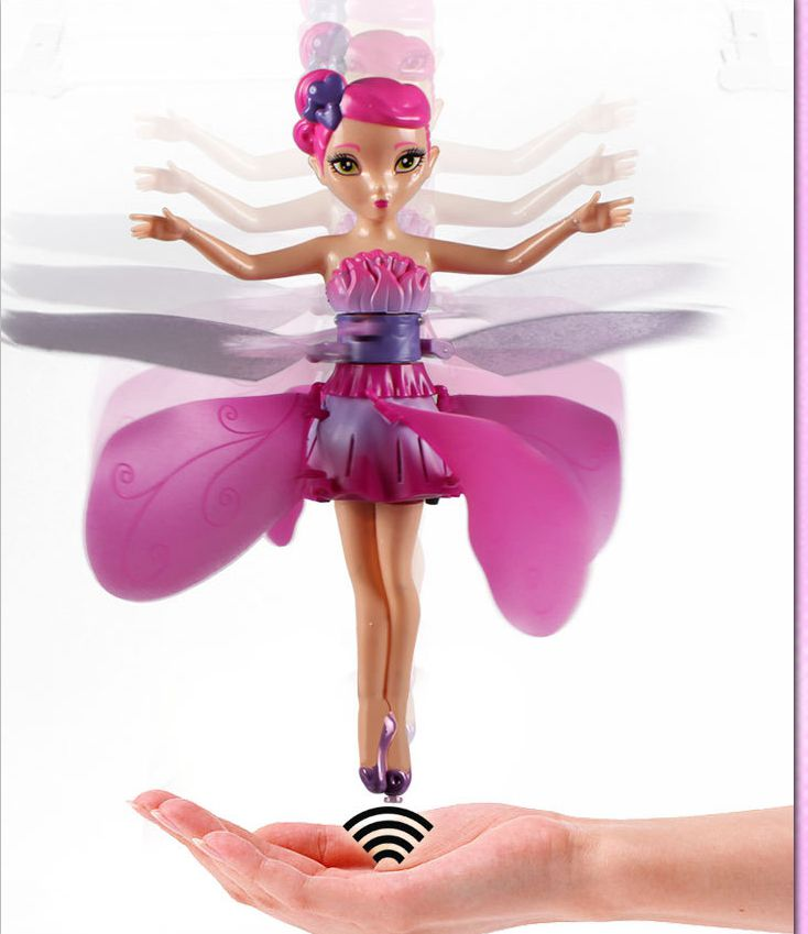 New DIY Flying Fairy Dolls for girls Learning & Education Infrared Induction Control Flying Angel Doll Baby toys Forzon Elsa(China (Mainland))