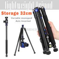 "Selens 150cm/62"" Al-Mg alloy Professional Tripod Monopod T-170 extendable selfie with ballhead protect bag Max Load 6kg"
