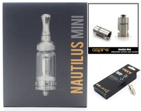 "1pcs Original Aspire Mini Nautilus Kit+5pcs BVC Coils+1pcs Mini Nautilus Replacement Tank with ""T"" Window Sleeve"