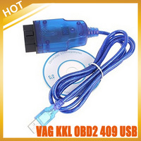 2014 Vag 409 VAG-COM 409.1 Vag Com 409.1 KKL OBD2 USB VAG409.1 Cable Scanner Scan Interface Free Shipping