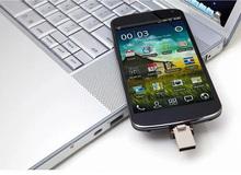 Full capacity mini usb Aluminum pen drive usb flash drive 64GB usb flash drive with good quality for free shipping(China (Mainland))