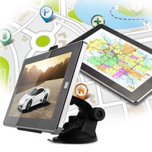 Car 7″ Touch Screen GPS Navigation MTK FM RAM 128MB 4GB + Western Europe Map Vehicle GPS