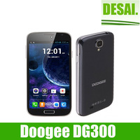 Promotion Cheap 5.0inch smart phone  Doogee DG300 mtk6572 Android 4.2 MTK6572 1.3GHZ  IPS 512MB RAM 4GB ROM  cell phone