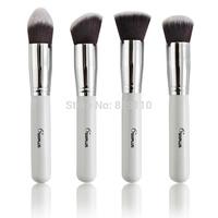 Brand SixPlus 4pcs TOP quality professional Makeup Brushes kit Cosmetic Facial Powder Foundation kabuki make up Brush Set 4 Pcs