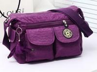 Fashion kippling women messenger bag kip handbag nylon cross boy bag samll shoulder monkey bag bolsas 2014 free shipping