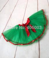 Wholesale Ribbon Tutu Skirt Kids Girl Ballet Tull  Skirts Children Christmas Tutu Skirt Free Shipping