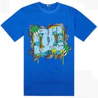 New Arrival Skateboard Element Men T-shirts Fashion Skateboard Street Boy Hiphop Hip-hop 100% Cotton Element T Shirt Men