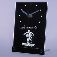 tnc0113 Captain Morgan Beer 3D LED Table Desk Clock