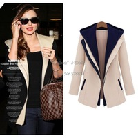 New Hot Women's Fashion Jackets Slim Two Pieces Outwear Patchwork Blazer Casual Female Coat #11 SV005641