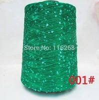 Yarn for knitting Paillette wool yarn sequin knitting wool crochet hand  thread Eco-friendly sweater scarf tippet  500g /lot