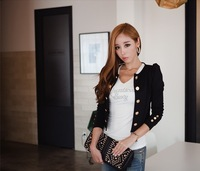 2014 New Spring Fashion Blazer Short Sexy Slim Blazer Jacket Outerwear Casual Suits For Women WT4094