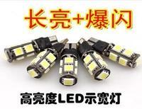 Universal Hot 1000pcs/Lot High Quality Canbus T10 5 SMD 5050 LED 5SMD car Light Canbus NO OBC ERROR White12v