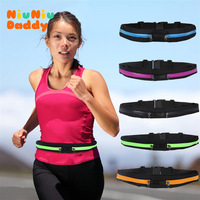 The Magical High Elastic Motion Running Pockets Gym Bags Multi-purpose Bag  double pocket   dual zippers  - 6 COLOR  CHOICE
