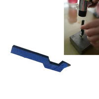 Brand new 925 Steel Punch Jewelry Ring Marking Stamp Tool Blue Color
