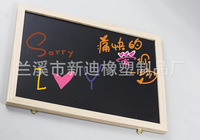 60*40cm Free shipping MDF blackboard with wood frame,menu board christmas gift 2014 new arrival