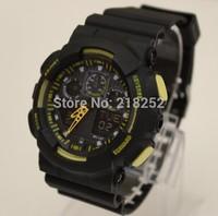 Electronic New Coming Sports Watches Fashion Men and Women ga 100 Watch,Sports G wristwatch shock style ga100 black movement