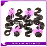 Peruvian Virgin Hair Top Quality Unprocess Peruvian Human Hair Body Weave MS Lula Peruvian Virgin Hair Body Wave 4 bundles