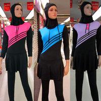Muslim women swimwear Muslim clothes New Fashion muslim bathing suit,Islamic Clothing