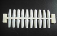 Free shipping 20tips fish-bone designs nail color chart/Nail practice display 10PCS Natural Color Chart