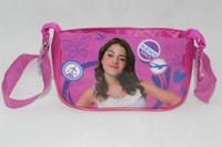 2014 new violetta girls children cute cartoon kids messenger bag diagonal package Wearing headphones frozen bag violetta QH6013