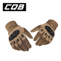US Army Tactical Gloves Outdoor Sports Full finger Combat Gloves Motocycle Racing Slip-resistant Carbon Fiber Tortoise Shell