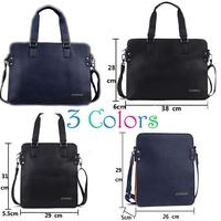 2014 New Fashion Men bags High Quality Leather Men's Messenger Bags Men Business Bag Set Bolsas Femininas men wallets salomon