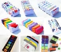 2014 Women and Men cute Socks 1lot=7Pairs=14pcs Cheap Product Weekly 7 Days Socks Sports Socks Winter Dress
