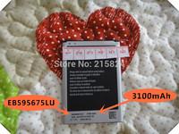 free shipping 3100mAh High Capacity 100% original EB595675LU Use for Samsung Galaxy Note2 N7100 N7108 battery Mobile Phones