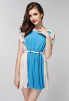 New high quality 2014 new fashion casual summer dress sweet evening party club sexy office dresses