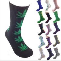 4pieces 2pairs harajuku dgk hip hop fashion cannabis marijuana style leaf plantlife weed skateboard meias hemp mens women  socks