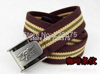 2014 High quality new brand men fashion canvas belt,men's women leisure joker thickening lengthen belts,male Military belts