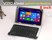 8 inch Bluetooth Keyboard Leather For Voyo A1 Mini For all 8 inchTablets Russian Keyboard Spanish And Multi-Language Keyboad